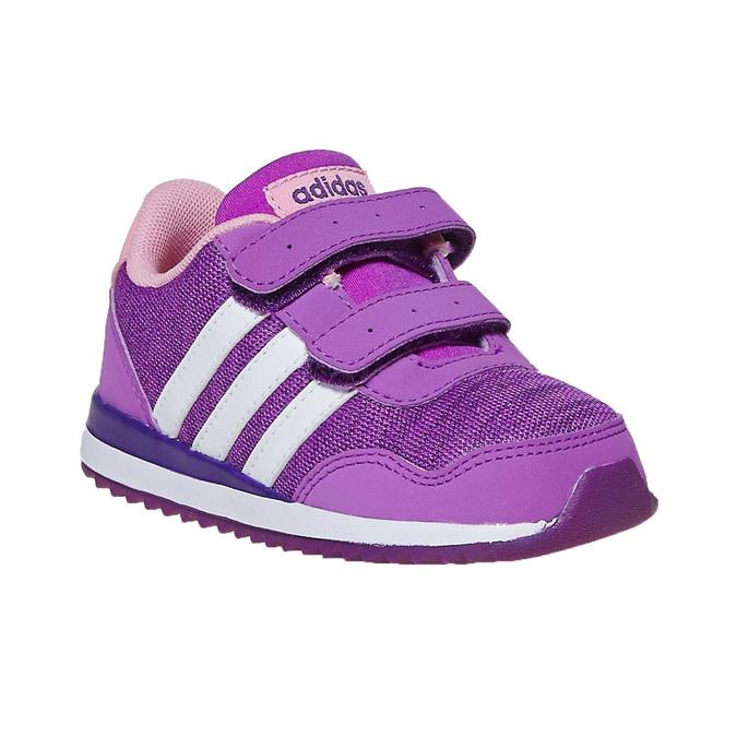 Fioletowe trampki dziecięce adidas, fioletowy, 109-5157 - 13