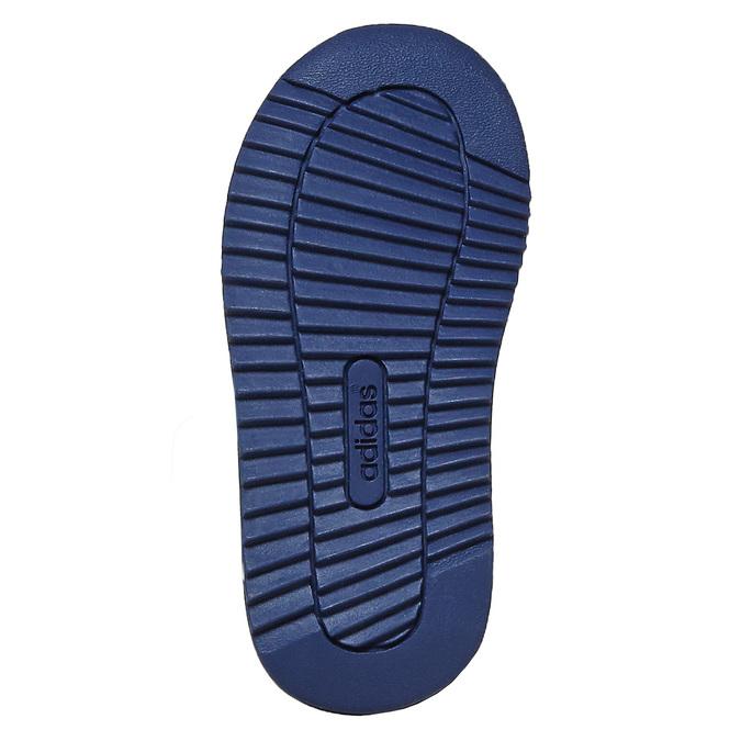 Trampki dziecięce na rzepy adidas, niebieski, 109-9157 - 26