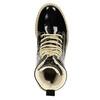 Lakierowane botki na grubej podeszwie weinbrenner, czarny, 598-6604 - 15