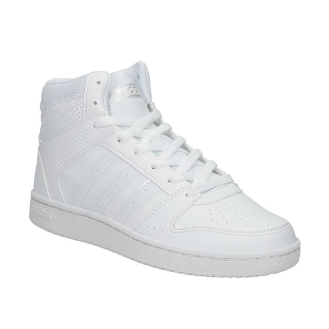 Białe trampki za kostkę adidas, biały, 501-1212 - 13