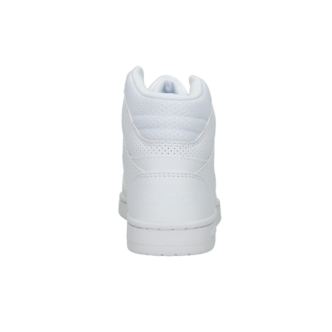 Białe trampki za kostkę adidas, biały, 501-1212 - 16