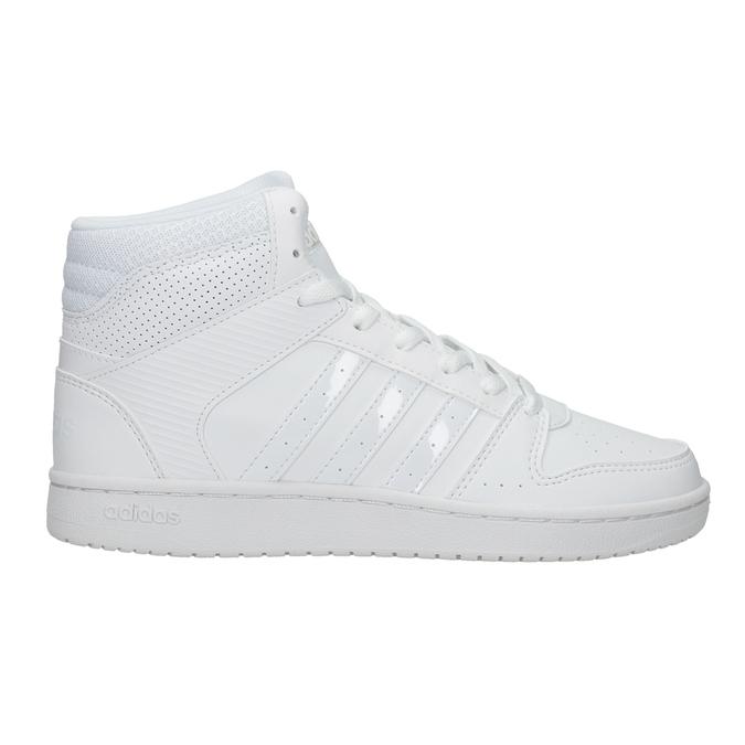 Białe trampki za kostkę adidas, biały, 501-1212 - 26