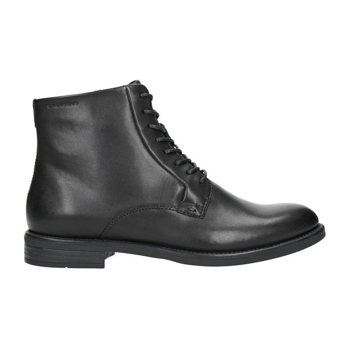 Skórzane botki damskie vagabond, czarny, 524-6010 - 26