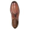 Skórzane buty męskie za kostkę bugatti, brązowy, 826-3005 - 15