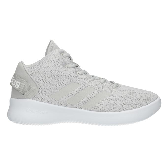 Trampki damskie zażurowym wzorem adidas, szary, 509-2216 - 26