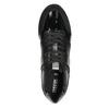Czarne trampki damskie geox, czarny, 621-6045 - 15
