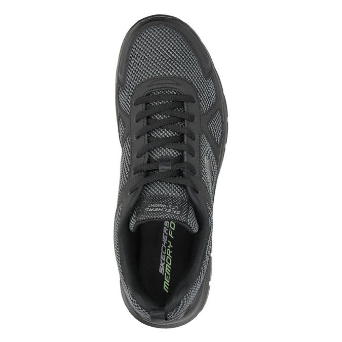 Czarne trampki męskie skechers, czarny, 809-6331 - 15