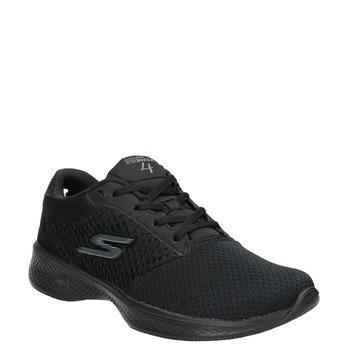 Czarne trampki damskie skechers, czarny, 509-6325 - 13