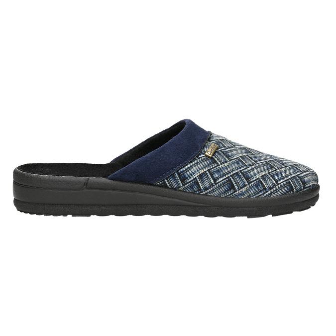 Kapcie męskie bata, niebieski, 879-9611 - 15