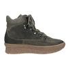 Skórzane obuwie damskie na platformie bata, szary, 596-2673 - 26