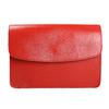 Czerwona skórzana torba vagabond, czerwony, 964-5086 - 17