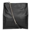 Czarna skórzana torba złańcuszkiem vagabond, czarny, 964-6087 - 26