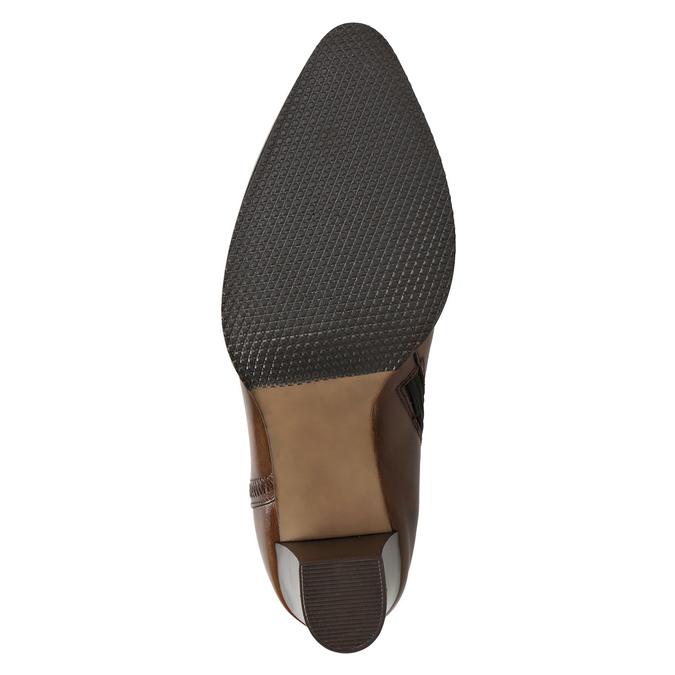 Skórzane botki bata, brązowy, 794-4650 - 17