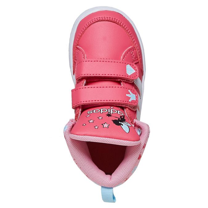 Trampki dziewczęce za kostkę adidas, różowy, 101-5292 - 19