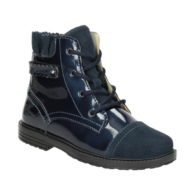 Skórzane obuwie dziecięce za kostkę primigi, niebieski, 228-9001 - 13