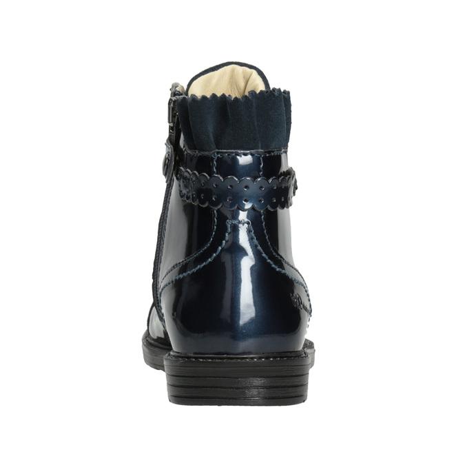 Skórzane obuwie dziecięce za kostkę primigi, niebieski, 228-9001 - 16