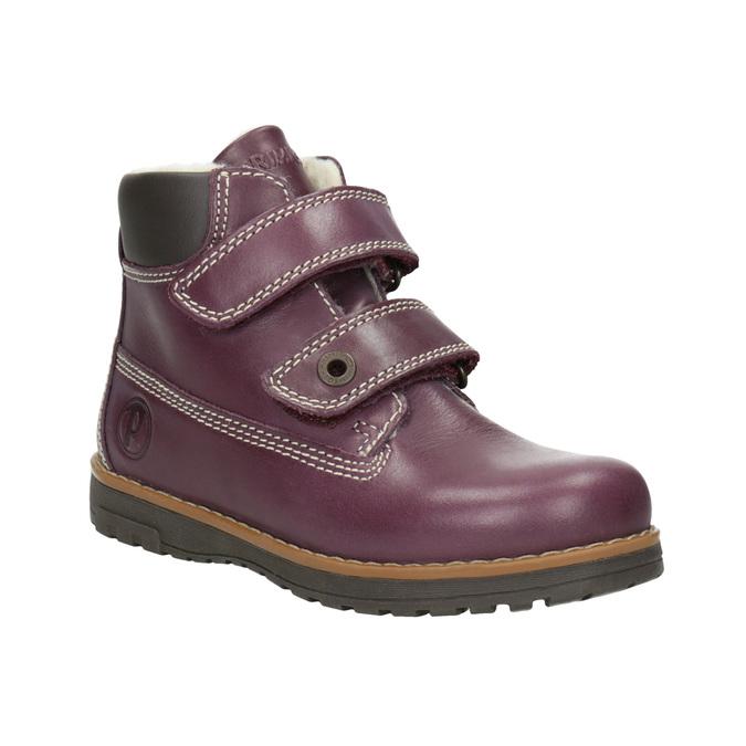 Dziecięce buty za kostkę zociepliną primigi, fioletowy, 324-9012 - 13