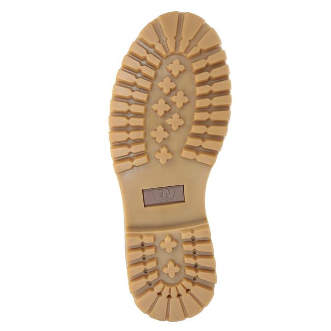Buty za kostkę na grubej podeszwie weinbrenner, czerwony, 596-5664 - 17