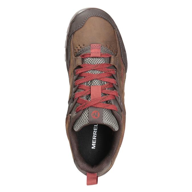 Sportowe trampki męskie merrell, brązowy, 806-4570 - 15
