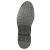 Skórzane buty zimowe za kostkę bata, czarny, 896-6685 - 19