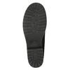 Buty za kostkę z kożuszkiem bata, czarny, 591-6618 - 19