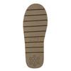 Damskie skórzane walonki bata, brązowy, 593-4604 - 19