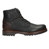 Męskie buty za kostkę bata, czarny, 896-6665 - 15