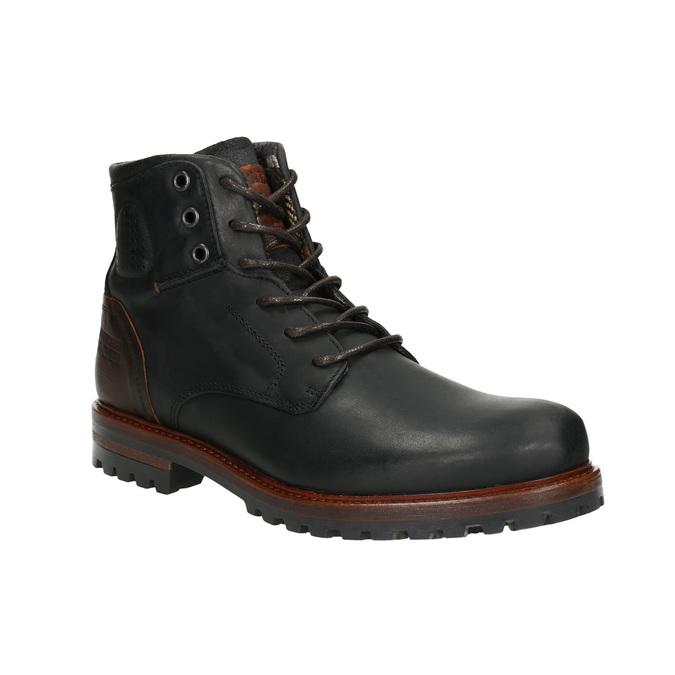Męskie buty za kostkę bata, czarny, 896-6665 - 13