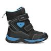 Zimowe buty dziecięce na rzepy mini-b, czarny, 491-6653 - 19