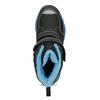 Zimowe buty dziecięce na rzepy mini-b, czarny, 491-6653 - 17