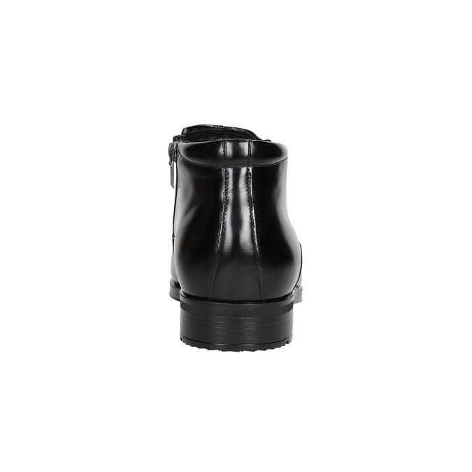 Ocieplane buty męskie za kostkę conhpol, czarny, 894-6698 - 16