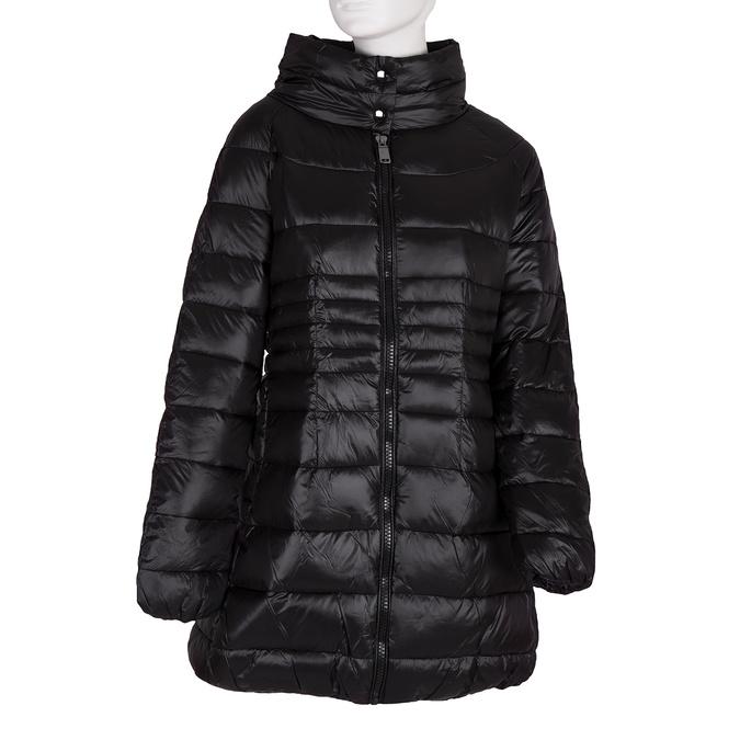Pikowana kurtka damska bata, czarny, 979-6166 - 13