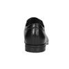 Skórzane półbuty męskie typu angielki conhpol, czarny, 824-6990 - 16