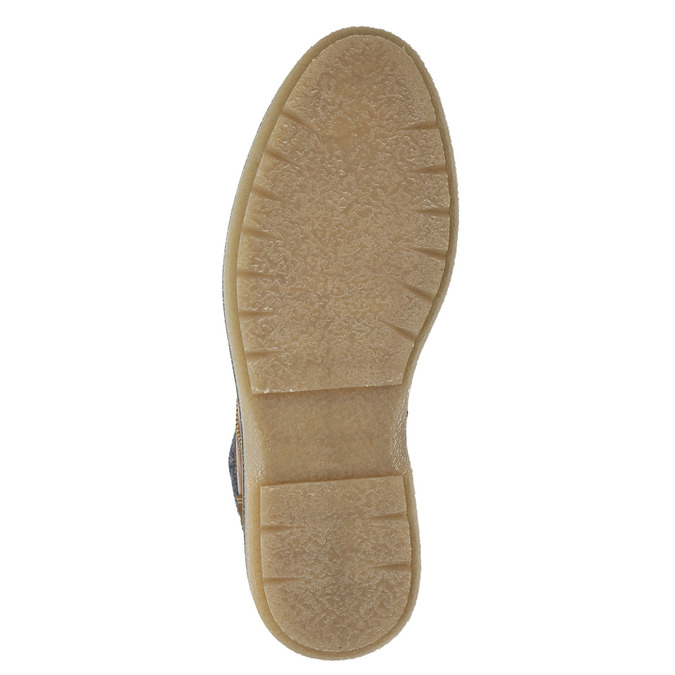 Buty męskie za kostkę bata, brązowy, 896-3669 - 17