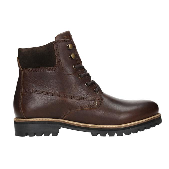 Zimowe obuwie ze skóry bata, brązowy, 896-4692 - 26
