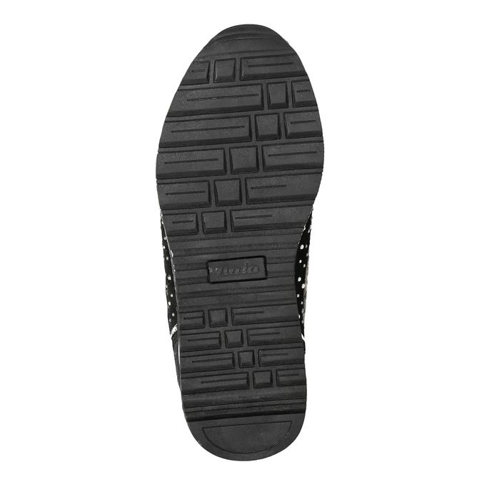 Zimowe obuwie dziecięce zkryształkami mini-b, czarny, 329-6287 - 17
