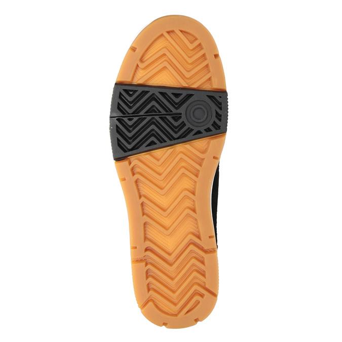 Skórzane buty męskie za kostkę, brązowy, 806-4552 - 17