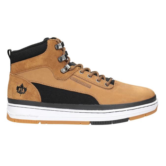 Skórzane buty męskie za kostkę, brązowy, 806-4552 - 26