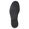 Skórzane obuwie za kostkę bata, brązowy, 894-4694 - 17
