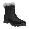 Damskie śniegowce na zimę, czarny, 599-6618 - 13
