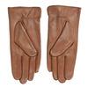 Brązowe skórzane rękawiczki bata, brązowy, 904-3129 - 16