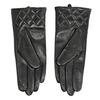 Czarne skórzane rękawiczki damskie bata, czarny, 904-6131 - 16