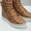 Zimowe buty damskie ze skóry bata, brązowy, 596-4684 - 14