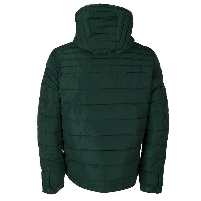Zielona kurtka męska zkapturem bata, zielony, 979-7130 - 26