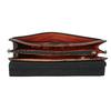 Czarna skórzana torebka picard, czarny, 966-6050 - 15