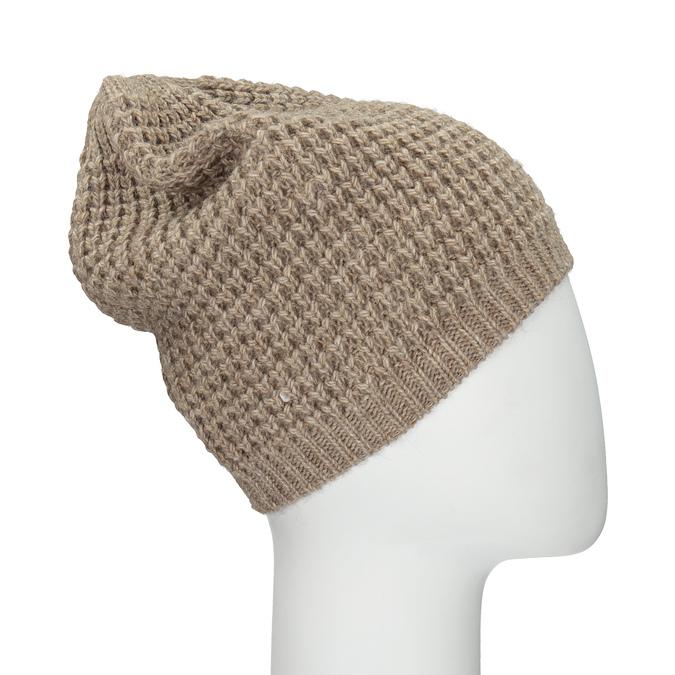 Dzianinowa czapka bata, multi color, 909-0695 - 17
