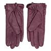 Skórzane rękawiczki damskie bata, fioletowy, 904-0109 - 16