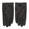Czarne skórzane rękawice bata, czarny, 904-6130 - 16