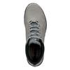 Skórzane buty męskie za kostkę skechers, czarny, 806-6327 - 17