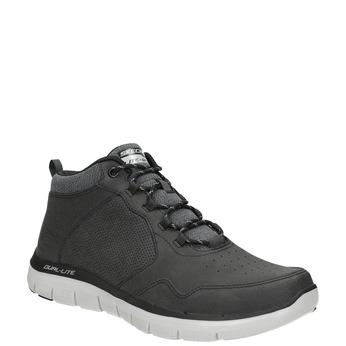 Zamszowe obuwie męskie za kostkę skechers, szary, 806-2327 - 13